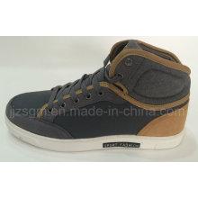 Zapatos ocasionales de la zapatilla de deporte de los deportes de la tapa alta de la manera