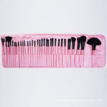 32 PCS/Set Pink Bag Professional Makeup Brushes Set Manufacturers China