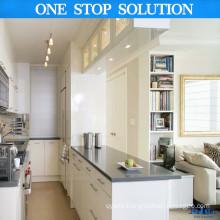 L Shape European Style Kitchen Cabinetry