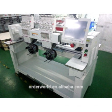 low price industrial sale embroidery machine 2 heads,sample embroiderymachine