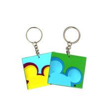 Fancy Key Rings, Mickey Mouse Keychain (GZHY-KA-121)
