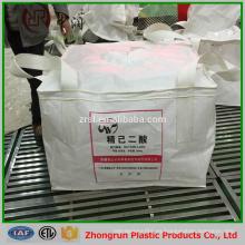 Bolsa grande de impresión en color de 1500 kg para fertilizante, químico, arroz, grano, azúcar, virgen pp súper sacos