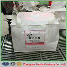 Color printing big bag 1500kg for fertilizer , chemical , rice , grain , sugar , virgin pp super sacks