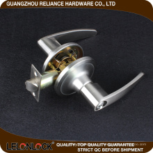 Seguridad excepcional Aleación de zinc Juego de cerradura cilíndrica con llave en la palanca disponible en una variedad de diseños de palanca y perilla