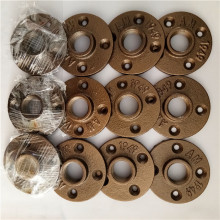 Alibaba hot sell brass color floor flange 1/2