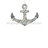new design anchor hook made of wood anchor head for wall deco with anchor