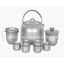 Hochwertige kundenspezifische Titanpfanne Tee