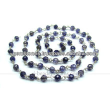 Amethyst Gemstone Beaded Chains, Wholesale Supplier Gemstone Jewelry