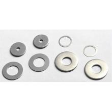 Rondelle ronde en aluminium de haute qualité