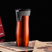 Tasse à café Thermos à vide avec couvercle à couvercle rapide
