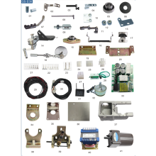 embroidery machine parts complete trimming system