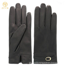 fashion Lambskin for daily use leather gloves
