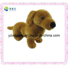 Сладкая коричневая собака Плюшевые игрушки