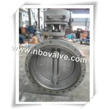 """Válvula Borboleta de Aço Carbono Flangeado PTFE (D31Y-38 """")"""