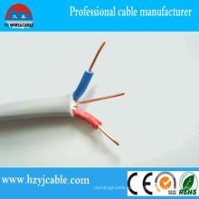 Плоский двухжильный и заземленный кабель Уганды