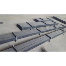 Revêtement latéral de seau d'excavatrice anti-abrasion en carbure de chrome