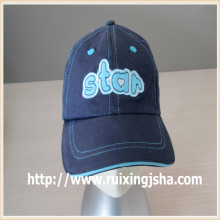 kids sell fast applique patch baseball cap