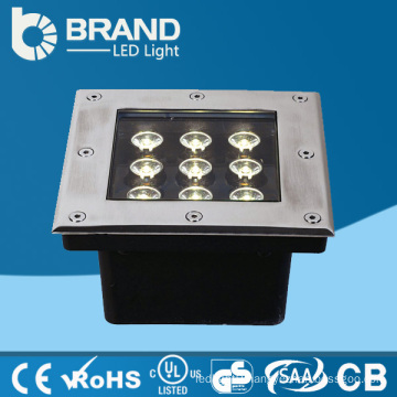 High Quality Outdoor DC24V Square Rain Proof LED Inground Light IP65