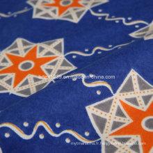 Tissu 100% coton flanelle pour couverture avec imprimé réactif (C20X10 / 40X42)