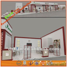 3m*3m light and collapsible standard aluminium exhibition booth system or shell scheme