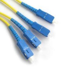 Multi modo SC UPC DX cable de fibra óptica de remiendo, con cable de fibra UPC SC