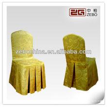 Différents styles de haute qualité disponibles en gros coutures de chaises de polyester en gros personnalisées