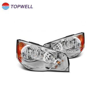 Auto light moulding for transparent parts