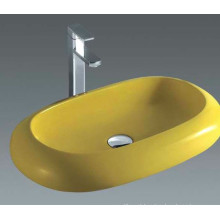 Popular Ceramic Art Basin, Bathroom Basin Toilet Basin (7042Y)