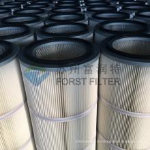 FORST Cartouche de filtre à poussière en polyester industriel pour le nettoyage de l'air