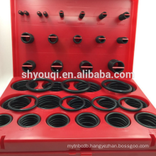 NBR 70 Hardware Rubber O Ring Kit Metric O-Ring Kit Box AS568 / metric/JIS Oring Repare Rings Set