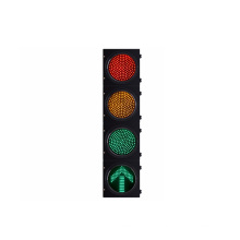 200mm 8 inch High flux red yellow green and one green arrow 4 ways LED Traffic Light head