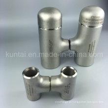 Encaixes de tubulação de aço inoxidável igual tee acessórios de solda de topo (kt0379)
