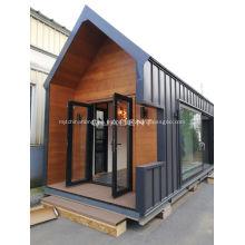 Venta caliente de la casa modular moderna de montaje rápido