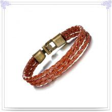 Кожаный браслет кожи браслета способа ювелирных изделий способа (LB376)