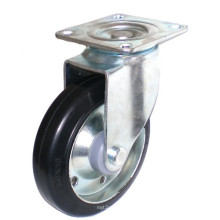 Rubber on Steel Caster (TF01-11-125S-606)