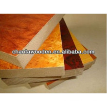 furniture and decoration melamine coated particle board