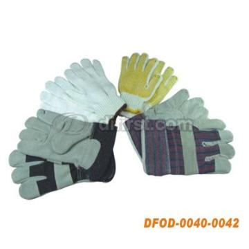 Rough Working Glove with Rubber or Dots
