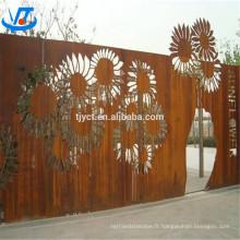 Plaque Corten décoration / feuille / corten A / B / SPA-H plaque en acier corten