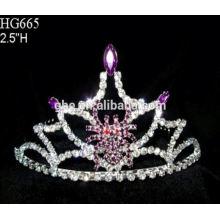 Fábrica de alta calidad directamente rey anillo de la corona