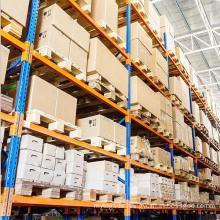 Storage System Industrial Material Handling Heavy Duty Steel Metal Beam Pallet Rack