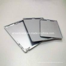 Precisão CNC feito à máquina parte para escudo de alumínio