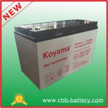 Batería de gel de plomo OEM 12V 100ah