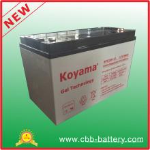 Bateria acidificada ao chumbo do gel do OEM 12V 100ah