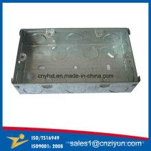 Cajas de conexión de terminales de acero galvanizado soldadas
