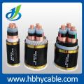Moyenne tension, multi-noyaux, câble d'alimentation SWA isolation XLPE