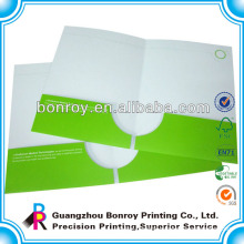 Custom printed presentation folder printing