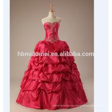 vestido de boda 2017 vestido de bola vestido de boda del vestido más nuevo vestido de bola rojo halter vestido de bola nupcial vestidos de novia
