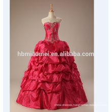 wedding dress 2017 ball gown newest design wedding dress ball gown red halter bridal ball gown wedding dresses