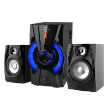 2.1 mini sistema de altavoces de subwoofer de portátil mp3