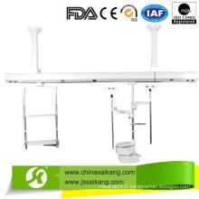 Pendentif de plafond de pont médical (zones séparées humides et sèches)